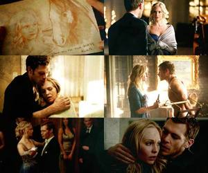 the vampire diaries, klaroline, and tvd image