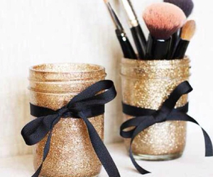 diy, glitter, and make up image