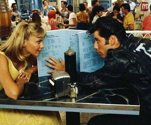 grease, movie, and Sandy image