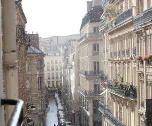 city, snow, and paris image