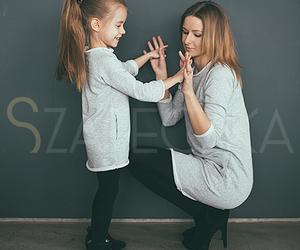 fashion, girl, and mom image
