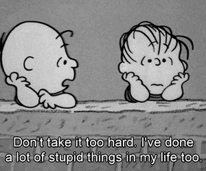 life, quotes, and charlie brown image
