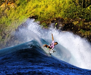 cool, girl, and surf image