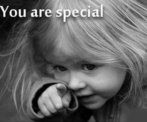 special, you, and child image