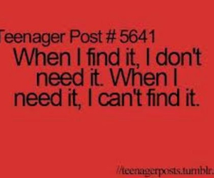 true, teenager post, and find image