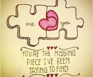 love and puzzle image