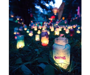 candles, jars, and wishes image