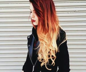 beautyfull, red hair, and blond image