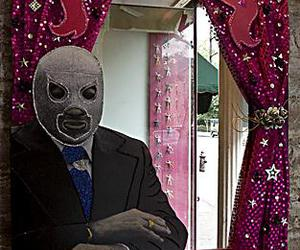 mirror, mexican wrestler, and new york image