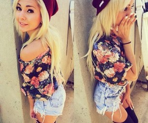 style, outfit, and shorts image