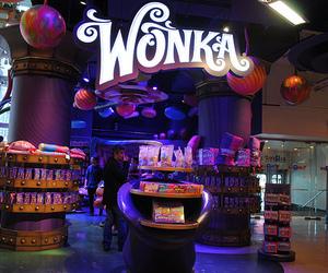 wonka, candy, and chocolate image