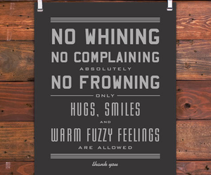 hug, smile, and quote image