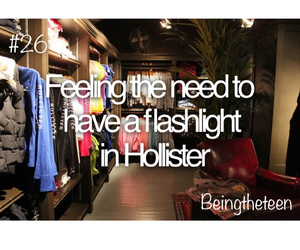 flashlight, hollister, and quotes image