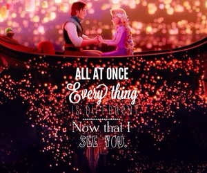 tangled, disney, and quotes image