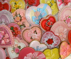 frilly, hearts, and pretty image