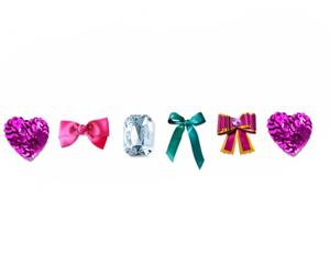 heart, ribbon, and cute image