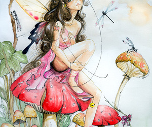 fairy and illustration image