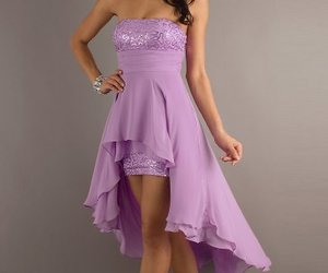 sequin prom dress cheap image