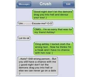 crush, text, and message image