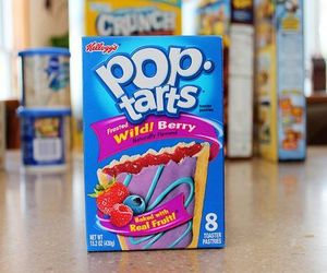 food, yum, and pop tarts image