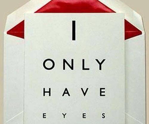love, eyes, and valentine image