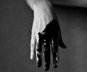 dark, skin, and pale image