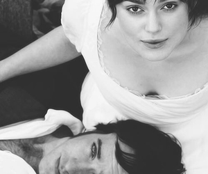 pride and prejudice, couple, and mr darcy image