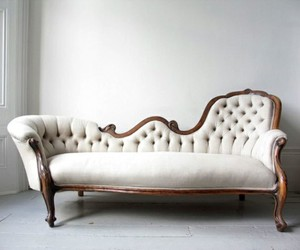 chair, chaise, and vintage image