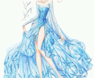 elsa, frozen, and disney image