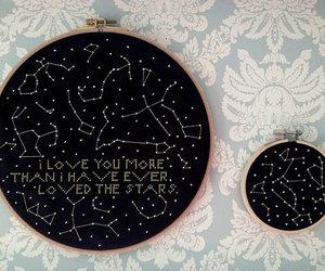 constellation, gift, and handmade image