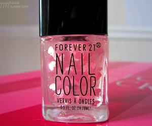 nails, pink, and forever 21 image