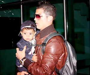 cristiano ronaldo and son image