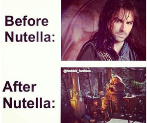 dwarves, nutella, and lord of the rings image