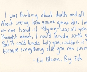 big fish, death, and everything image