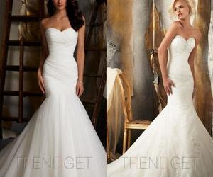 wedding, wedding dress, and wedding dresses image
