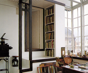 design, books, and home image