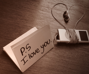 love, music, and ipod image