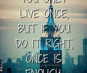 quote, life, and yolo image