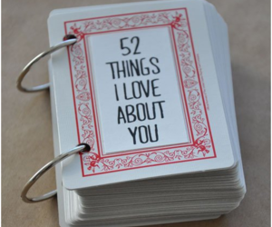 love, cards, and 52 image