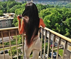 hair, girl, and swag image