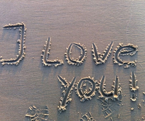 beach, love, and words image