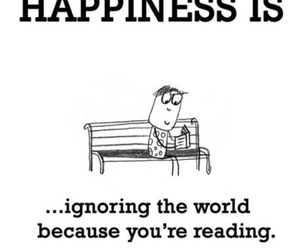 book, reading, and happiness image