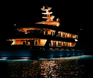 luxury, yacht, and cruise image