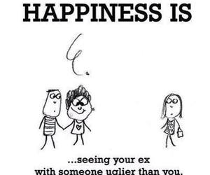 happiness, ex, and ugly image