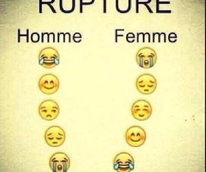 amour, femme, and homme image