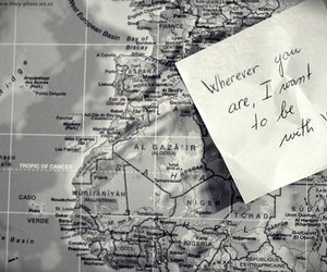 map and love image