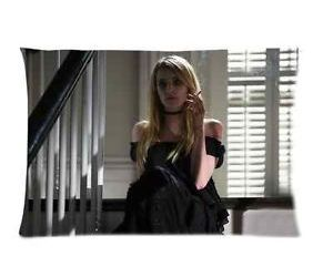 emma roberts, coven, and evan peters image