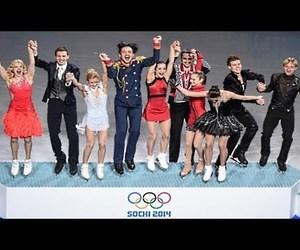 figure skating, olympics, and sochi image