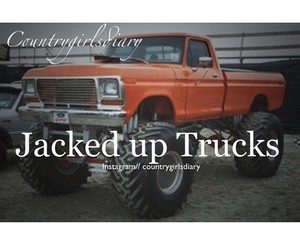 country, trucks, and lifted image
