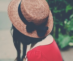 fashion, vintage, and hat image